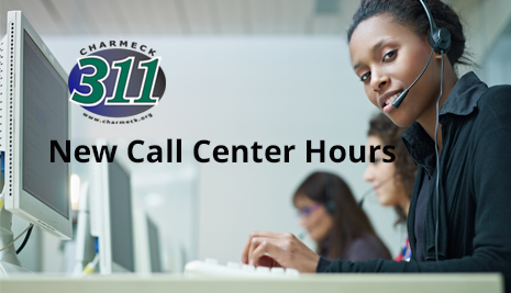 New 311 call center hours