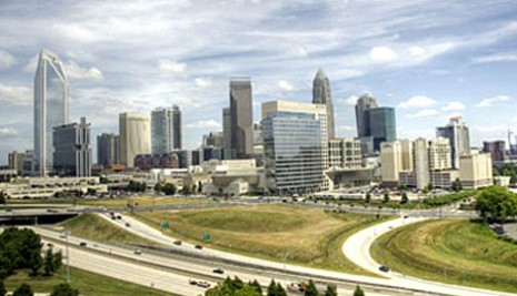 City of Charlotte skyline