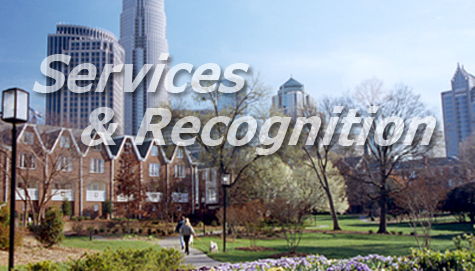 Services and Recognition